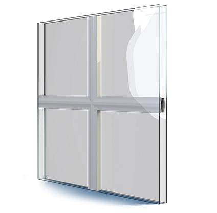 Kunststofffenster wei mit sprossen 18 mm 4 glas feldern 2fach glas ebay - Kunststofffenster glas ausbauen ...