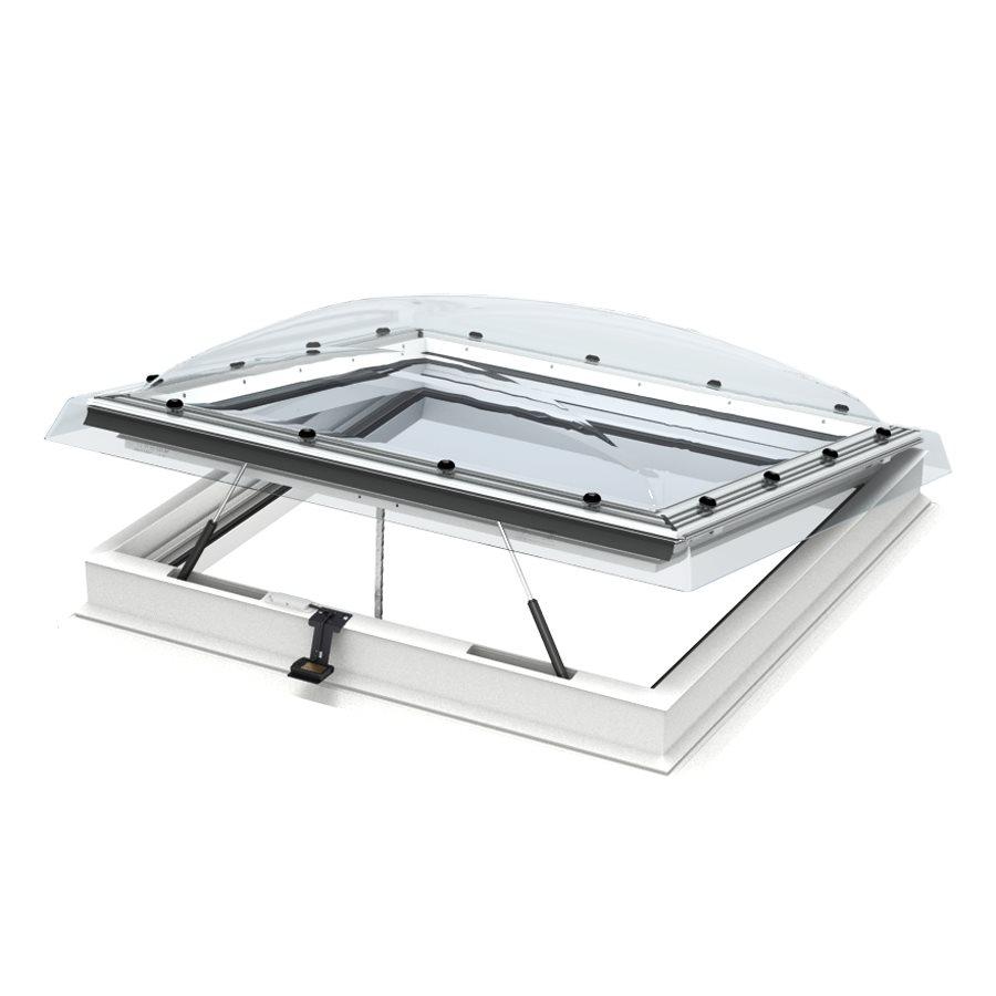 Finestra per tetti piani cvp 0573u apertura elettrica for Velux tetti piani